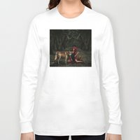 red riding hood Long Sleeve T-shirts featuring Red Riding Hood by Viggart