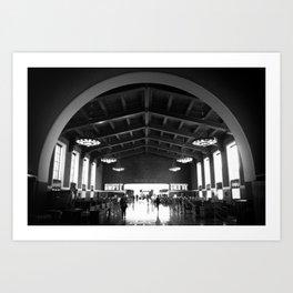 Union Station Art Print