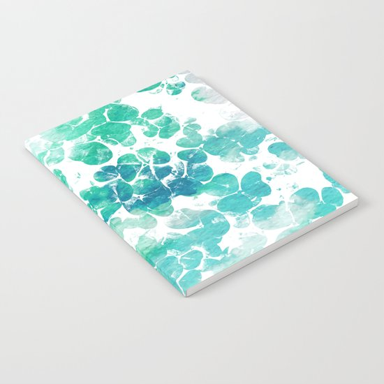Clover Watercolor #society6 #decor #buyart Notebook