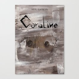 CORALINE WITH TITLE Canvas Print
