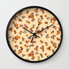 Bees and Honey Wall Clock