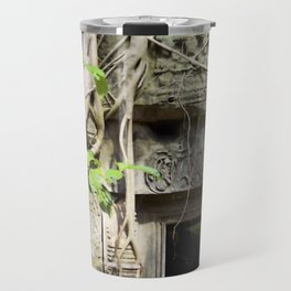 Angkor Wat Tomb Raider entrance Travel Mug