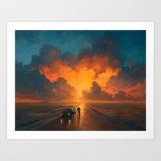 Perfomance of the Heaven Art Print