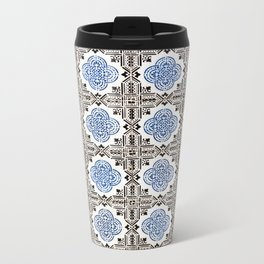 Portuguese Tiles 5 Metal Travel Mug