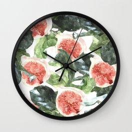 Watercolor Deliciousness #society6 #buyart #decor Wall Clock