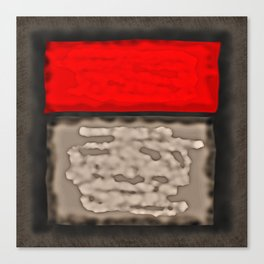Red Rectangle Canvas Print