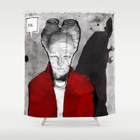 dracula Shower Curtains featuring Dracula by Ed Pires
