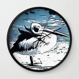 Pelican Solo Wall Clock