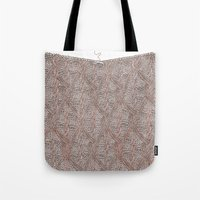 knitting Tote Bags featuring Knitting experience by Julia Kisselmann