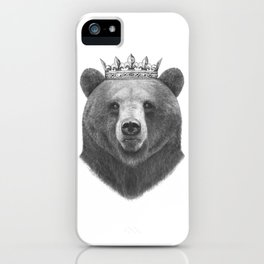 King bear iPhone Case