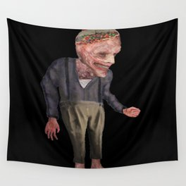 the man with candy Wall Tapestry