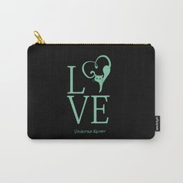 Love Kitty Valentines Love Carry-All Pouch