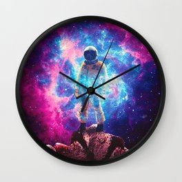 Mountaineer Wall Clock