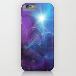 Gravitational Distort Space Abstract Art iPhone Case