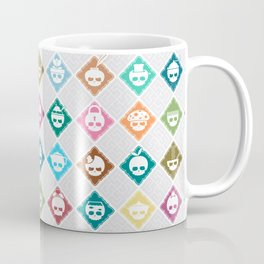 The Nik-Nak Bros. Multee Kolour Flipped Coffee Mug