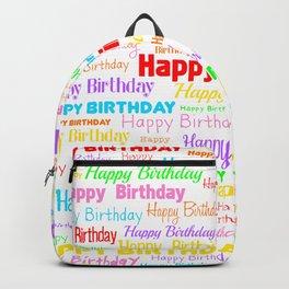 Happy Birthday! 1 Backpack