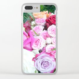 A Sea Of Roses #1 #decor #art #society6 Clear iPhone Case