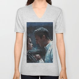 The Confrontation With Marla Singer - Fight Unisex V-Neck