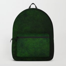 Green with Black Backpack