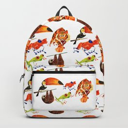Rainforest animals 2 Backpack