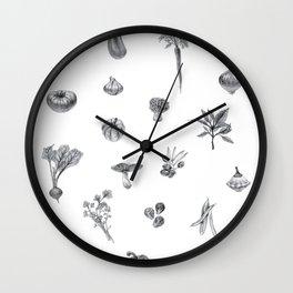 Favorite Veggies Wall Clock