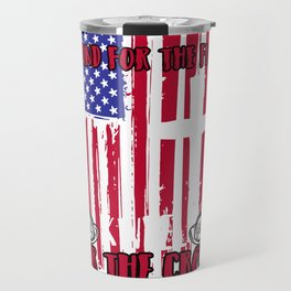 Firefighter Stand for the Flag Kneel Cross product Travel Mug