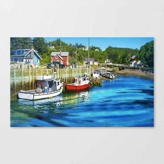 Harbourville, Nova Scotia Canvas Print