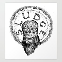 Patriarch of Sludge Art Print