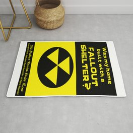 Was my home built with a FALLOUT SHELTER? Rug