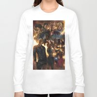 resident evil Long Sleeve T-shirts featuring Resident Evil 6 by Dr-Salvador