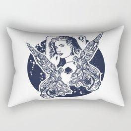 Queen playing card Rectangular Pillow