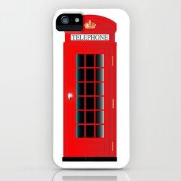 UK Telephone Box iPhone Case