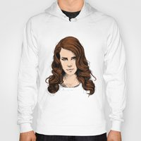 lana Hoodies featuring LANA. by paintparamore
