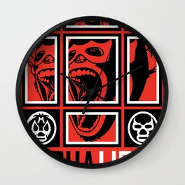 LUCHALIBRE MEXICO Wall Clock