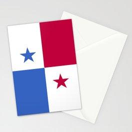 Panama flag emblem Stationery Cards