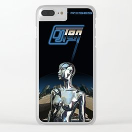 Skynet Rises Clear iPhone Case
