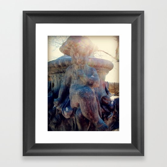 Angels of the Silences Framed Art Print