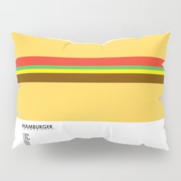 Pantone Food - Hamburger Pillow Sham