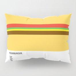Pantone Food - Hamburger Pillow Sham