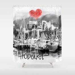 I love Hobart Shower Curtain