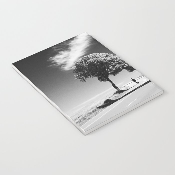 Cloud trees man Notebook