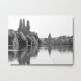 The River Oise at Auvers Metal Print