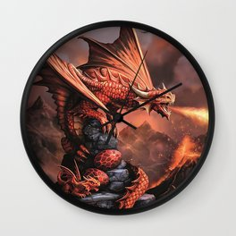 The Strongest Warrior Family Wall Clock