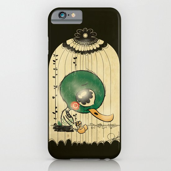 Chinese Idiom: Sitting Duck 插翅难飞 iPhone & iPod Case
