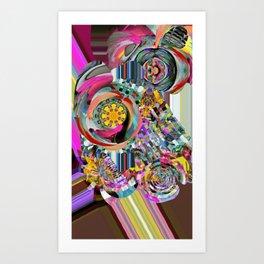 Rainbo Ripler Art Print