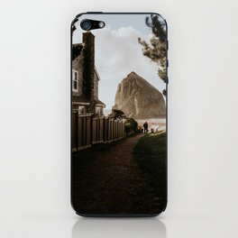 Cozy Cannon Beach, Oregon iPhone Skin
