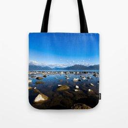 Lake Te Anau, New Zealand Tote Bag