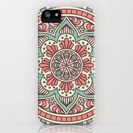 Batik Style 10 iPhone Case