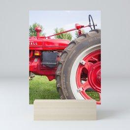 Vintage Tractor Mini Art Print