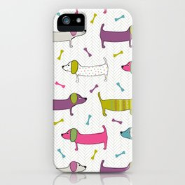 Sausage Dogs iPhone Case